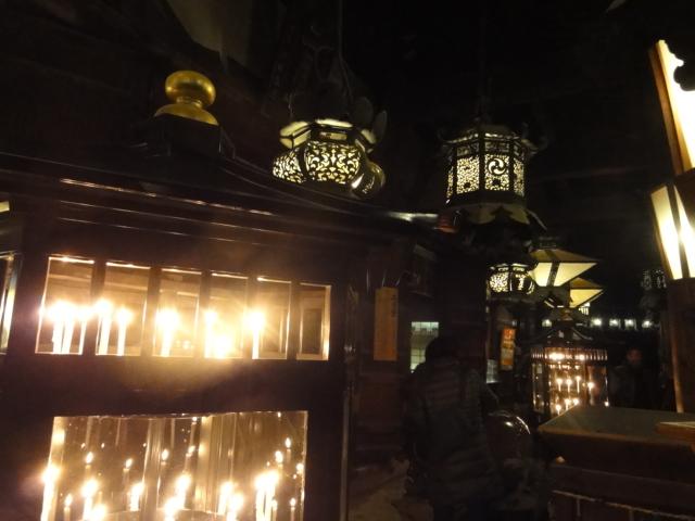 2016年1月1日 東大寺二月堂