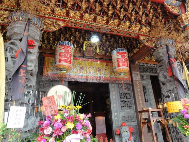 2016年1月20日 嘉義で入った寺廟