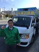 1602門川市長選確認車
