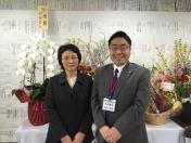 1602門川市長選事務所当番夫人と