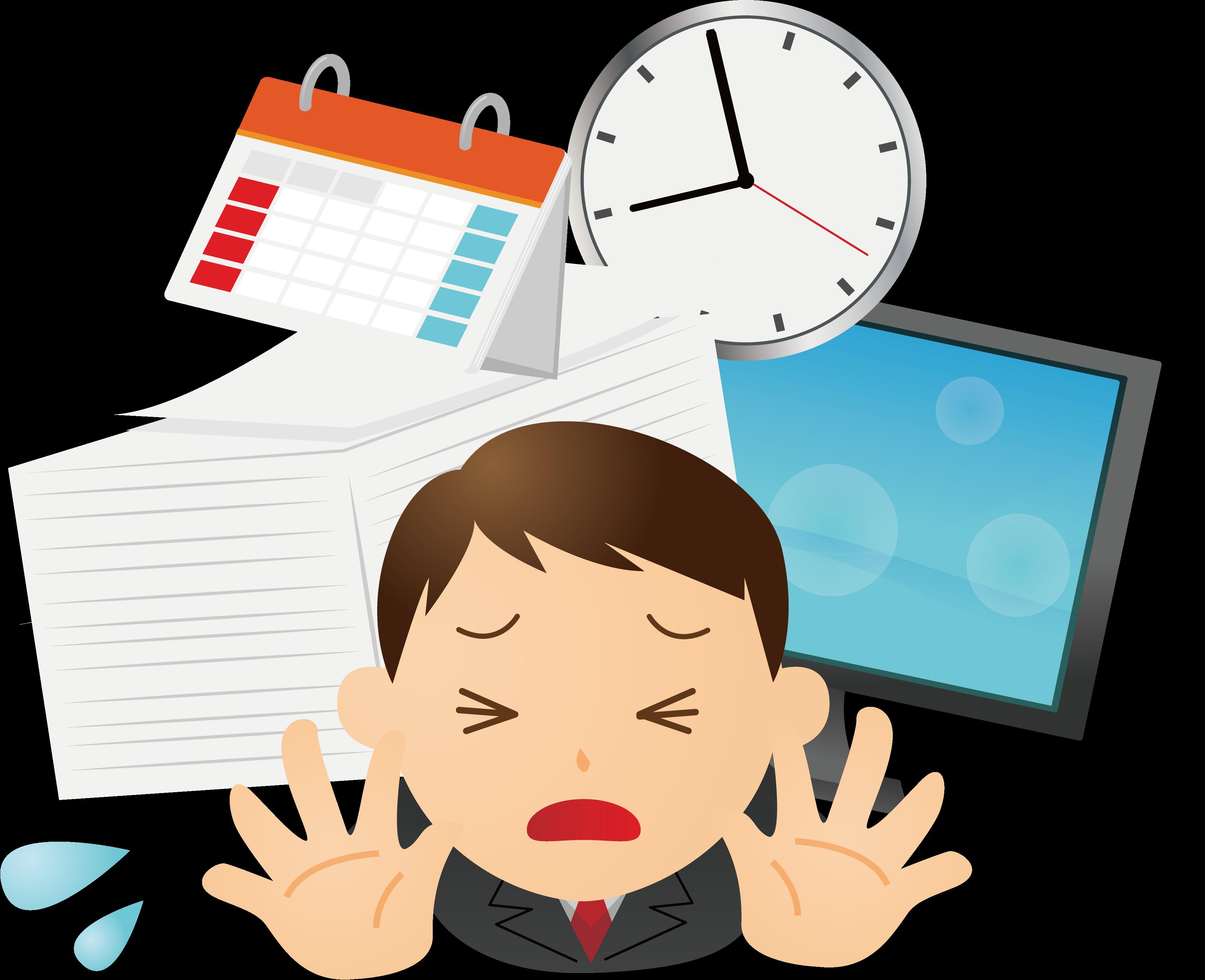 時間がない時の対処方法 勉強/仕事/引っ越し/運動など