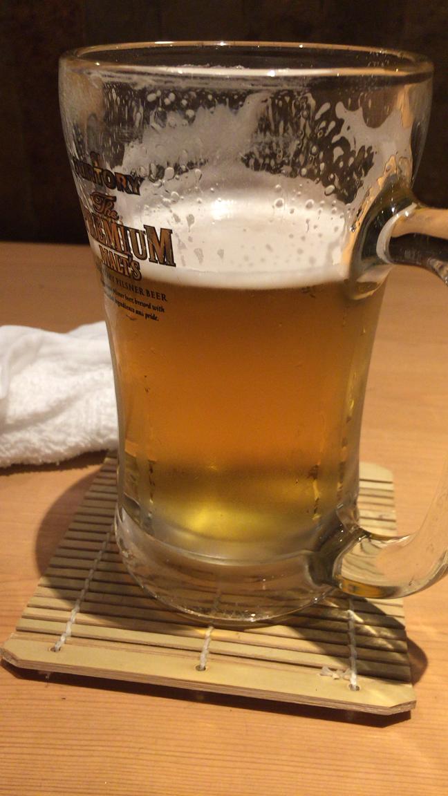 寅八商店心斎橋店生ビール