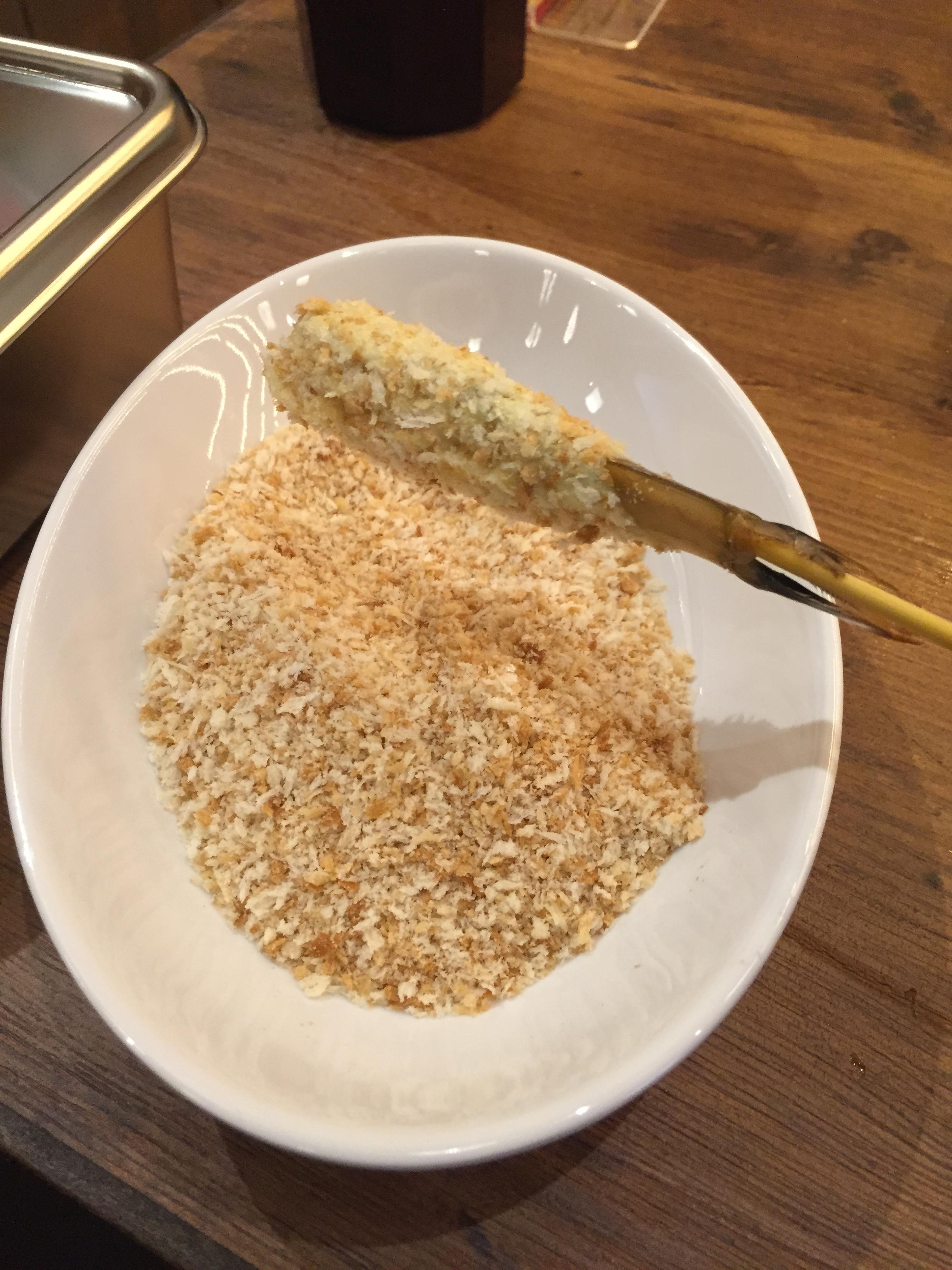 大阪通天閣新世界串カツバイキング大統領串カツパン粉