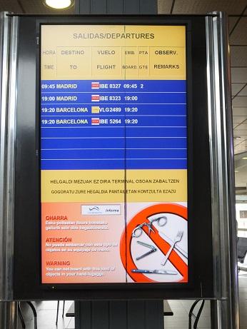 ... 空港 か スペイン の 空港 か