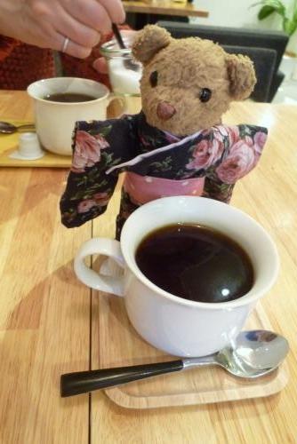 ベァーとコーヒー(SANDOYAさん)