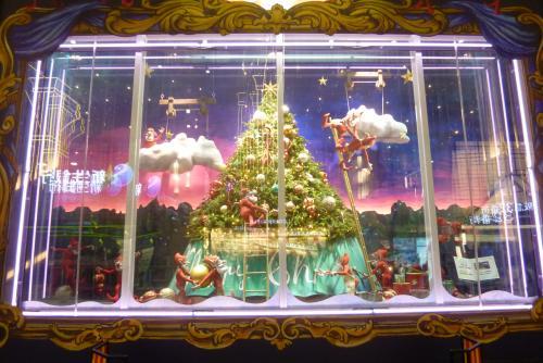 阪急百貨店さんのクリスマス・ウィンドー