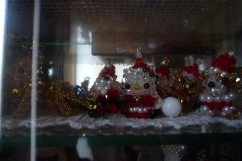 玄関 クリスマス飾り 2015