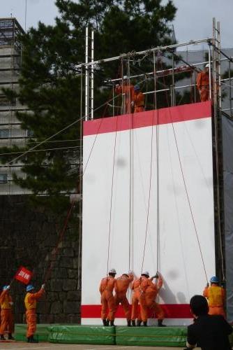 平成28年 消防出初式 救助訓練