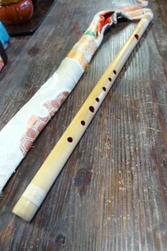 今日の一品 手づくりの笛