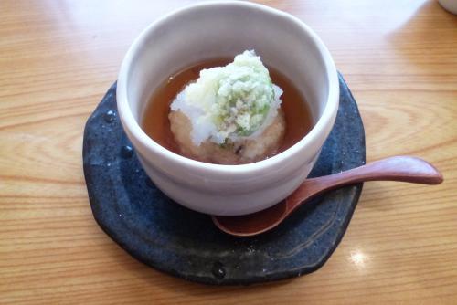 和 ささら さん (2016 2月)揚げ出し豆腐