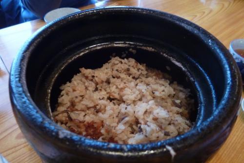 和 ささら さん (2016 2月)炊き込みご飯