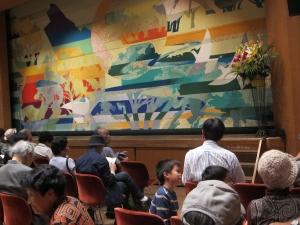 ひの煉瓦ホール「小ホール」2015,10.18.
