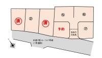 境下武士の分譲地区画図