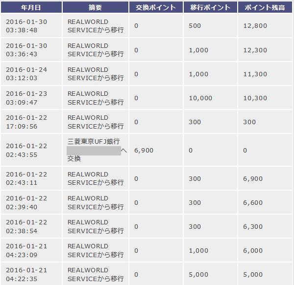 げん玉-ポイント移行完了!