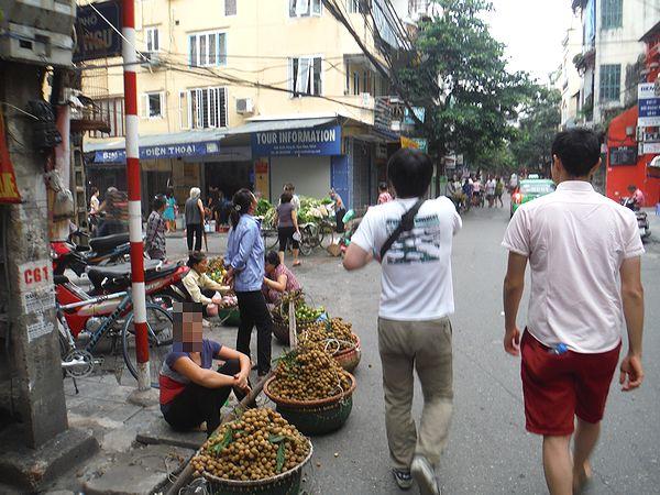 ハノイの旧市街