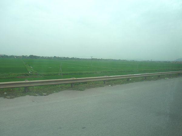 田園地帯へ