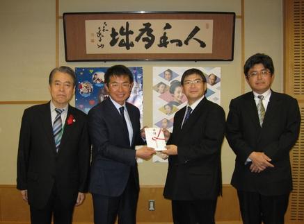 「NHK歳末たすけあい」にご協力ありがとうございました。 ~大阪出光会~