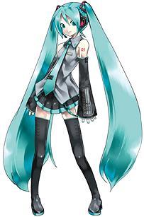 アニメのキャラってなんでニーハイ履いて髪やたら伸ばすの?