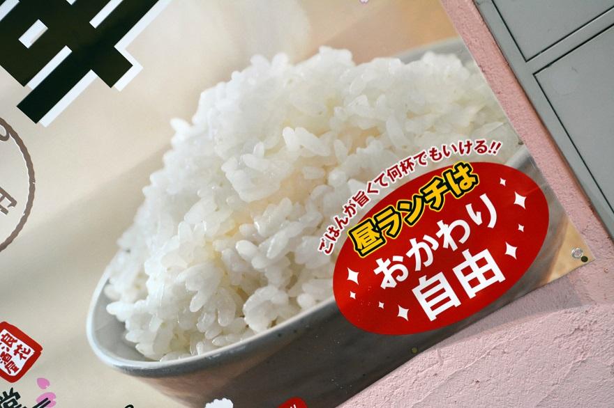 ハーフから揚げ定食 (3)