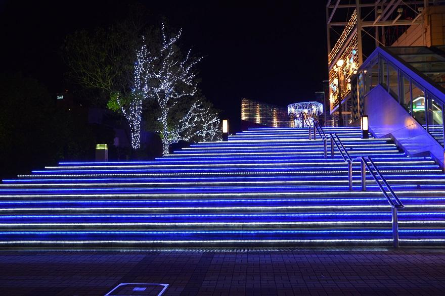 海遊館・ウィンターイルミネーション (4)