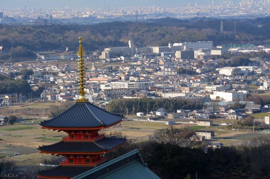 岩昭寺の朱き、五重塔 (00)