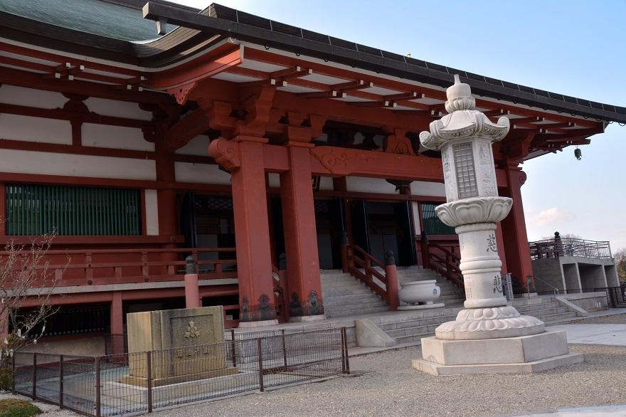 岩昭寺の朱き、五重塔 (3)