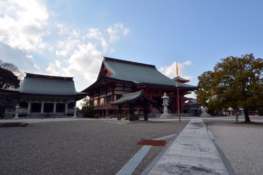 岩昭寺の朱き、五重塔 (4)