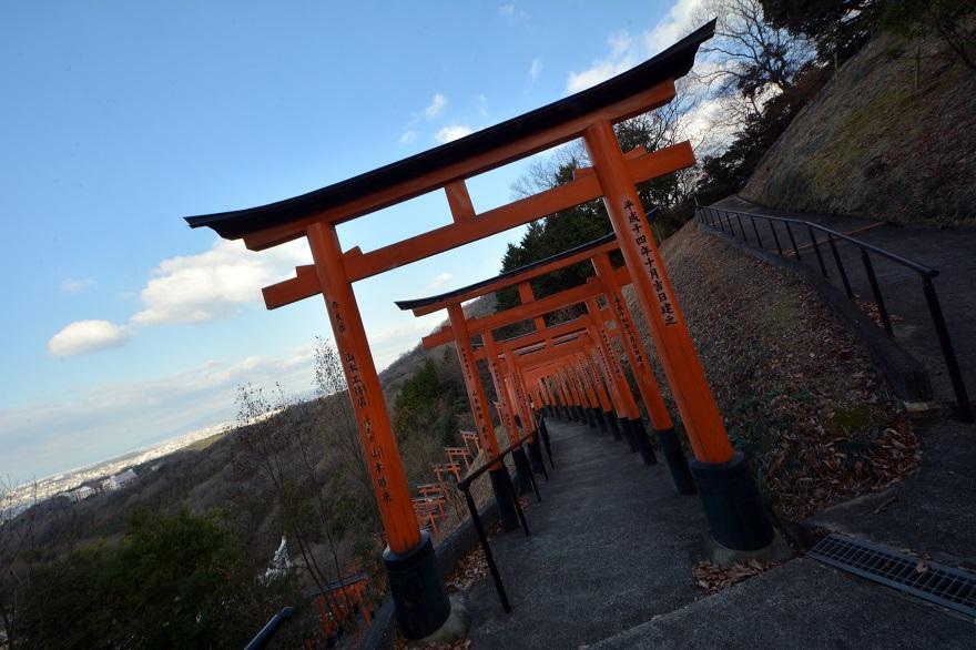 岩昭寺の朱き、五重塔 (6)