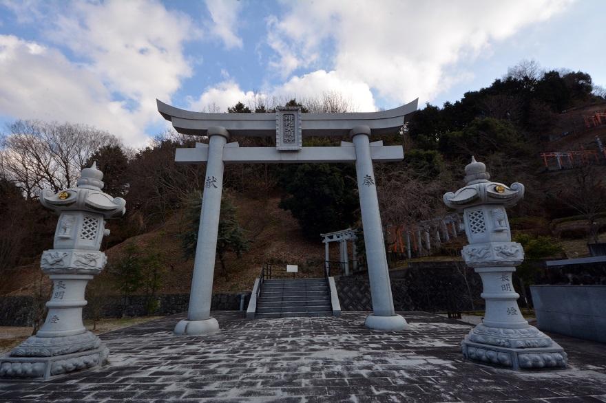 岩昭寺の朱き、五重塔 (5)