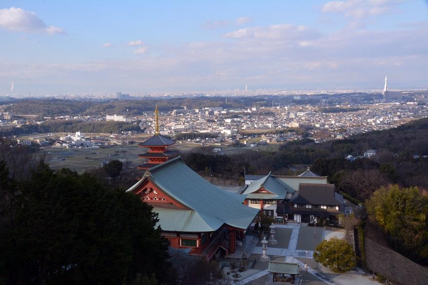 岩昭寺の朱き、五重塔 (8)