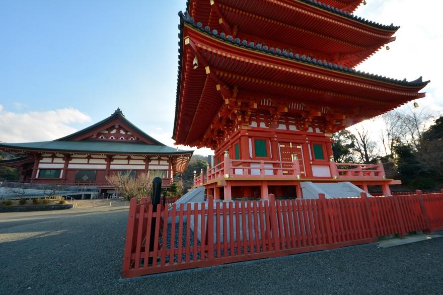 岩昭寺の朱き、五重塔 (14)