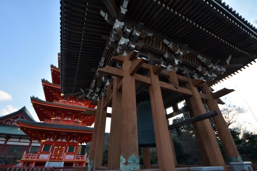岩昭寺の朱き、五重塔 (16)
