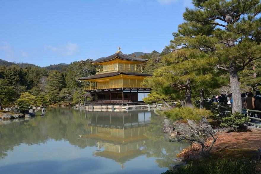 金閣寺に参拝 (1)