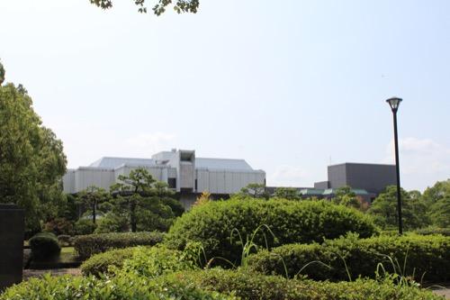 0013:佐賀県立博物館 佐賀城公園内にある博物館と美術館