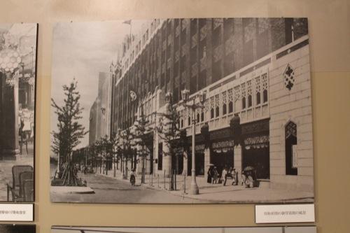0029:大丸心斎橋店本館-ex 昭和初期の御堂筋からの風景