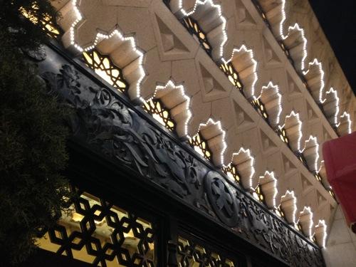 0029:大丸 心斎橋店 入口上部装飾