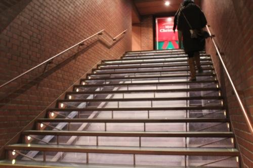 0035:横浜赤レンガ倉庫 保存された階段室②