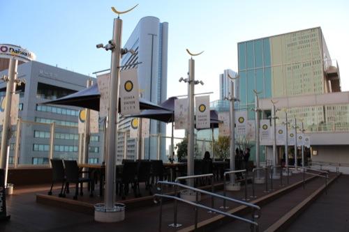 0040:大阪駅舎 サウスゲートビル「太陽の広場」