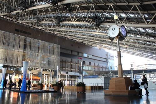 0040:大阪駅舎 時空の広場 銀の時計台
