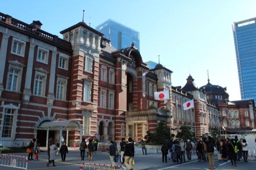 0041:JR東京駅舎 外観①