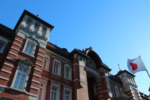 0041:JR東京駅舎 外観中央部分