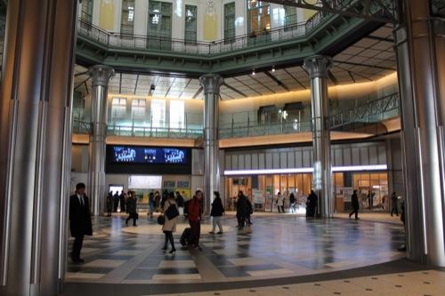 0041:JR東京駅舎 北側ドームのコンコース