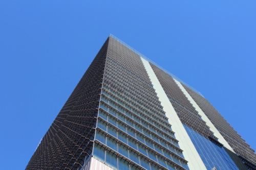0042:JPタワー 東京駅から逆方向のタワー棟ファサード