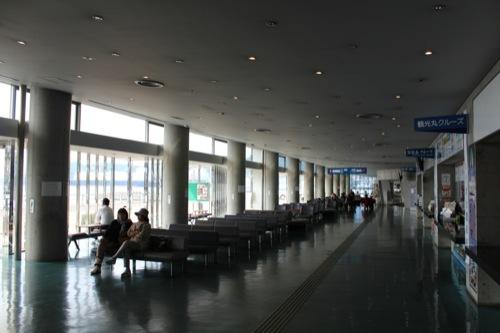 0045:長崎港ターミナルビル 1階待合室②