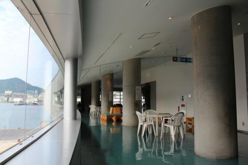 0045:長崎港ターミナルビル 2階待合室②