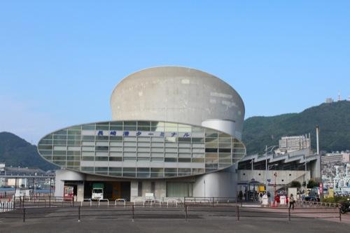 0045:長崎港ターミナルビル 東側外観