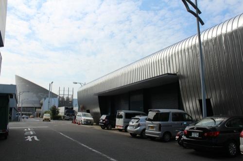 0046:長崎港上屋B棟 長崎港ターミナルを望む