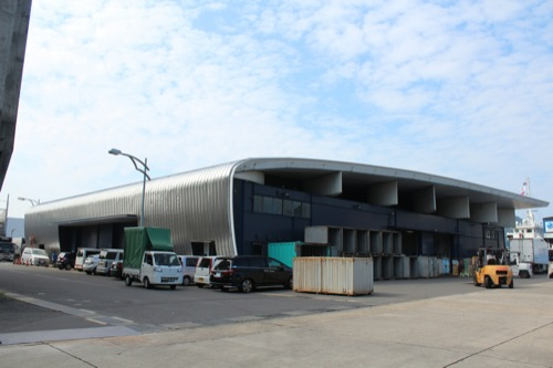 0046:長崎港上屋B棟 港側からの眺め