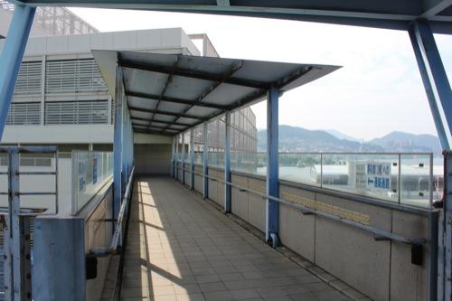 0047:長崎港上屋C棟 『ゆめタウン夢彩都』へ続く通路