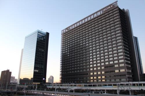 0048:ソニーシティー大崎 JR線の反対側から